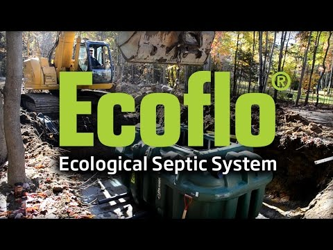 Ecoflo Septic System – Installation of a Polyethylene Model