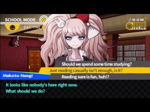 danganronpa dating sim game