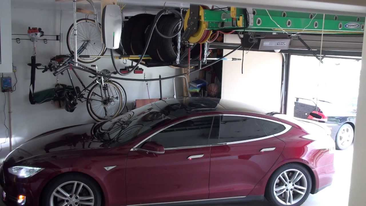 How To Charge A Tesla >> Tesla Model S Charging HPWC - YouTube