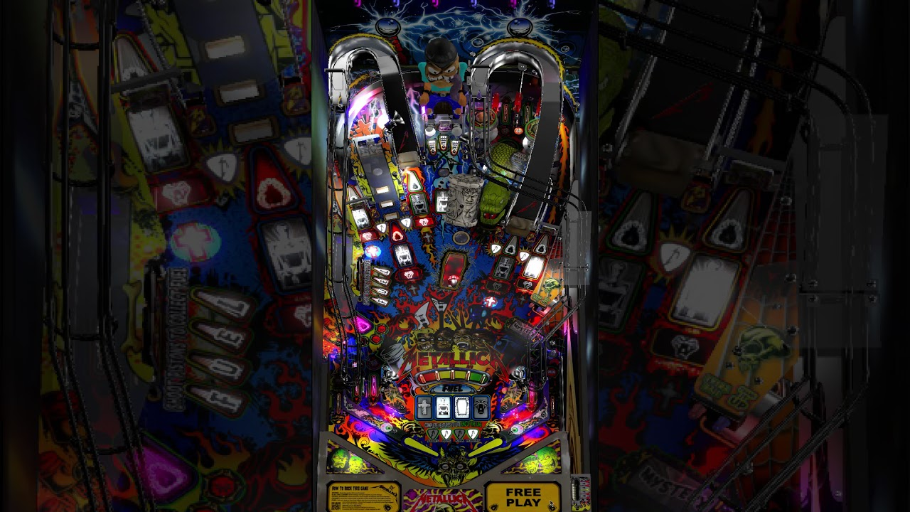 Stern Metallica Virtual Pinball