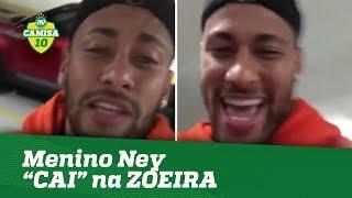 NEYMAR posta vídeo e entra na ZOEIRA do CAI-CAI!