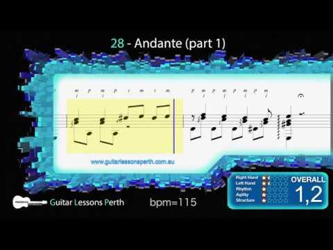 28 - Andante Part1 (M. Carcassi)