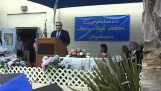 Principals Commencement Speech June 2011 Serra HS