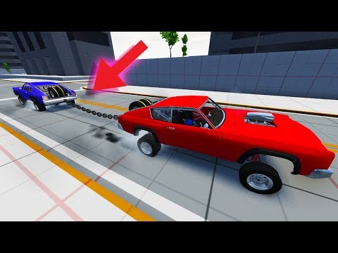 ULTIMATE OFFROAD DRAG BARSTOW TUG OF WAR!  BeamNG Drive