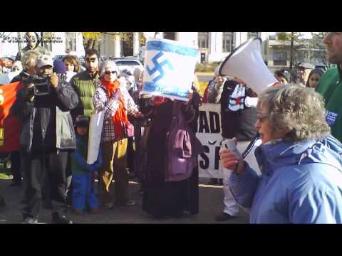 Canadians Rally Outside Halifax War Conference (Potent News Blast #9)