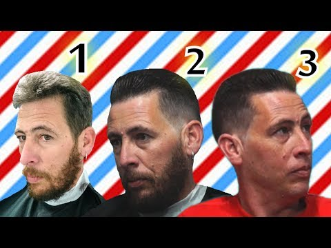 Haircut & Barber Shave Gentleman Hairstyle