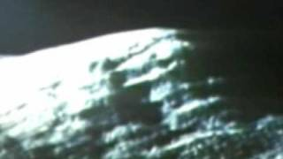 Moon Hoax Apollo 15- Metal Beams & Box Square Hole Seen in The Constructed Fake Moon Bay Mountain