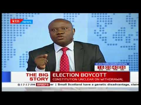 """Provisions of Article 138 A and B..."": Election law expert-Felix Owuor"