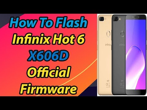 How to flash infinix X608 with full menu.