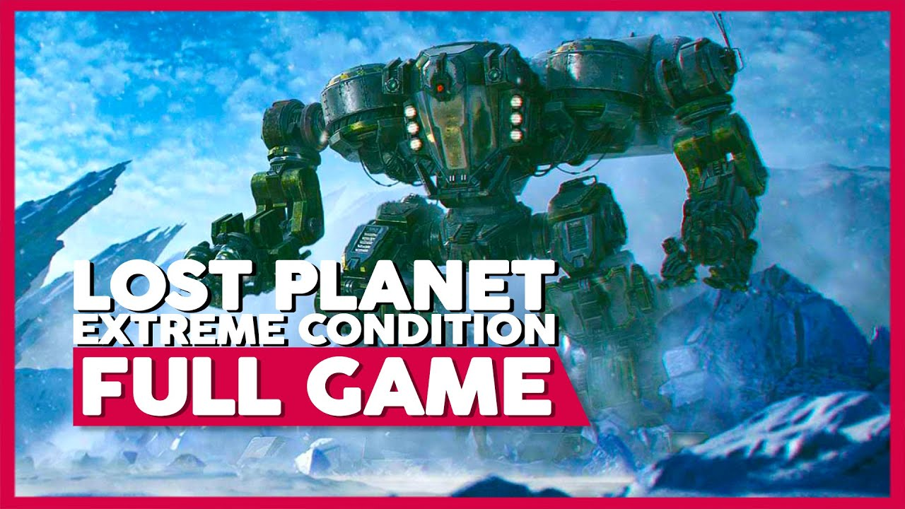 Lost Planet: Extreme Condition   Full Game Playthrough   No Commentary (PC 60FPS)