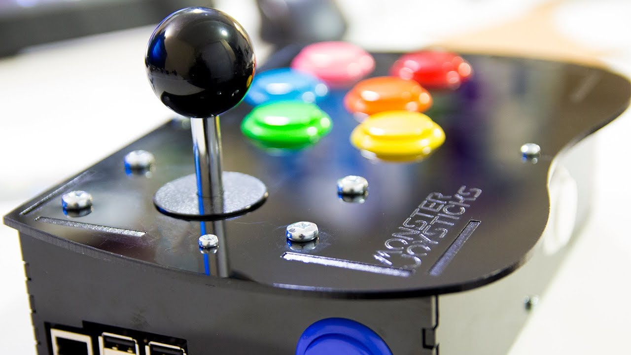 Raspberry Pi Arcade Controller Kit by Monster Joystick