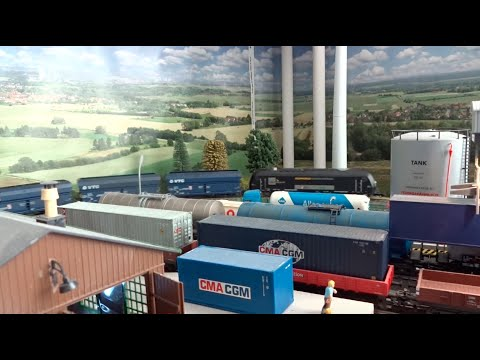 Märklin Layout: Coal transport with The Bosphorus Express - 300 Subs!