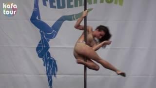 Ukrainian exotic pole dancer   competition 2014