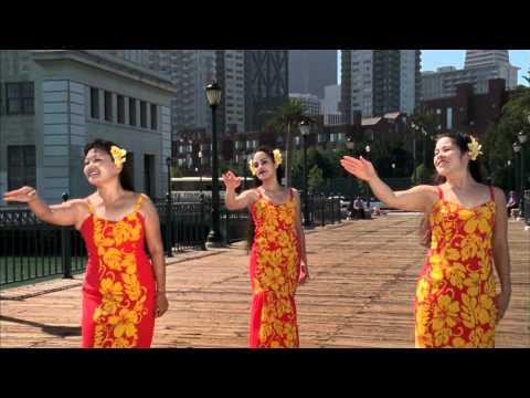 I Left My Heart In San Francisco - Superb Hula Rendition In Hi-Def