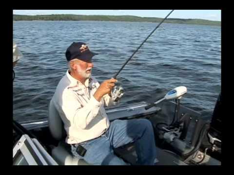 Bobber Fishing with Gary Roach at Paradise Cove Resorts in Minaki, Ontario