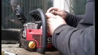 Как заменить катушку зажигания на бензопиле Homelite. Обзор