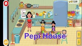 Развлекательное ВИДЕО ДЛЯ ДЕТЕЙ  Pepi House Семейная игра как мультик развлекательная игра про семью