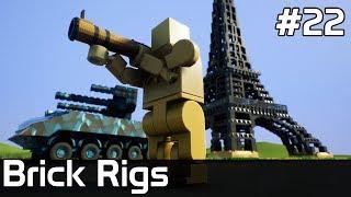 Brick Rigs PL [#22] Wieża EIFFLA do WYBURZENIA
