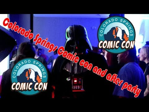 Colorado Springs Comic Con/After party 2017