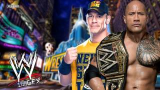 WWE Wrestlemania 29 (John Cena Vs. The Rock) Theme Song - ''Letters From The sky'' with DL