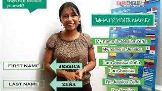 lección 1 como presentarse en ingles how to introduce yourself