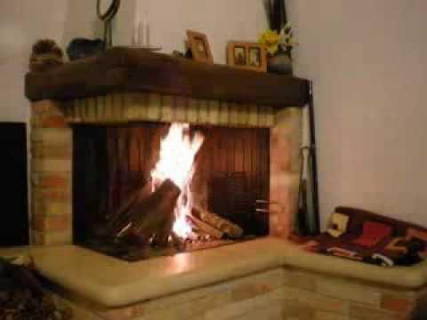 Fire place caminetto stufa rustico clam youtube for Clam camini