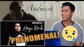 Andmesh - Hanya Rindu (Official Music Video) | REACTION