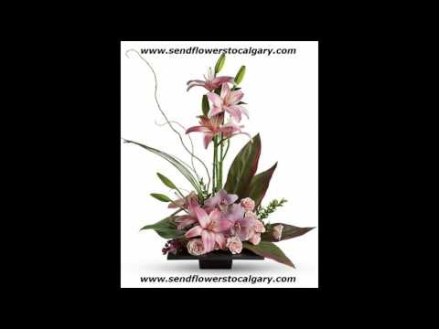 Send flowers from Lithuania to Calgary Alberta Canada