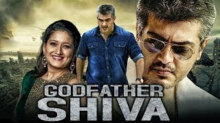 Godfather Shiva (Paramasivan) Hindi Dubbed Full Movie | Ajith Kumar, Laila, Prakash Raj