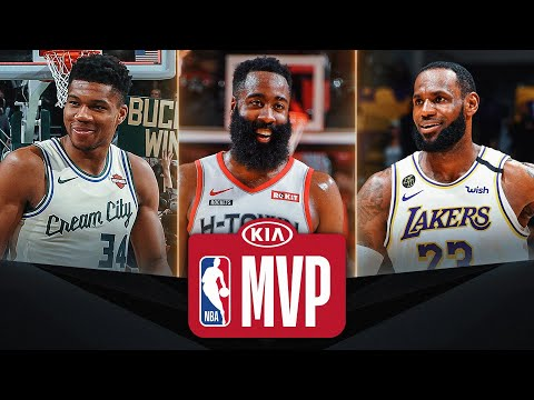Giannis/Harden/LeBron #KiaMVP Three Finalists | 2019-20 NBA Season