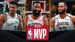 Giannis/Harden/LeBron #KiaMVP Three Finalists | 2019-20 NBA Season
