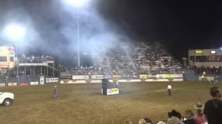 motorbike stunts at the reno rodeo 6 22 2013