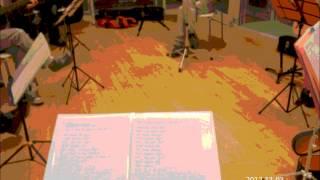2012.11.11北上市生涯学習センターで演奏予定の楽曲の1週間前リハーサ...