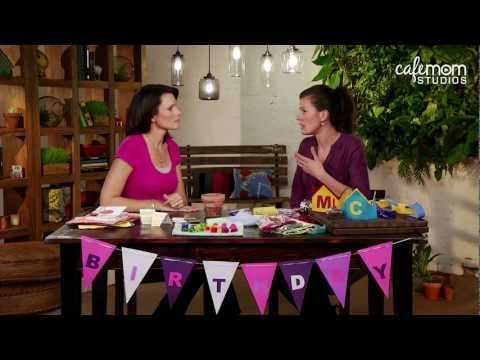 Throwing a Green Birthday Party – Mom-Ed: Green Living – Episode 9