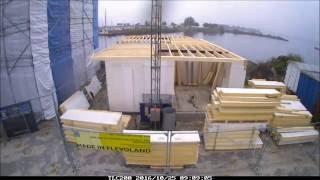 Watervilla Zeewolde Gebouwd Met Sip - Spt Panelen