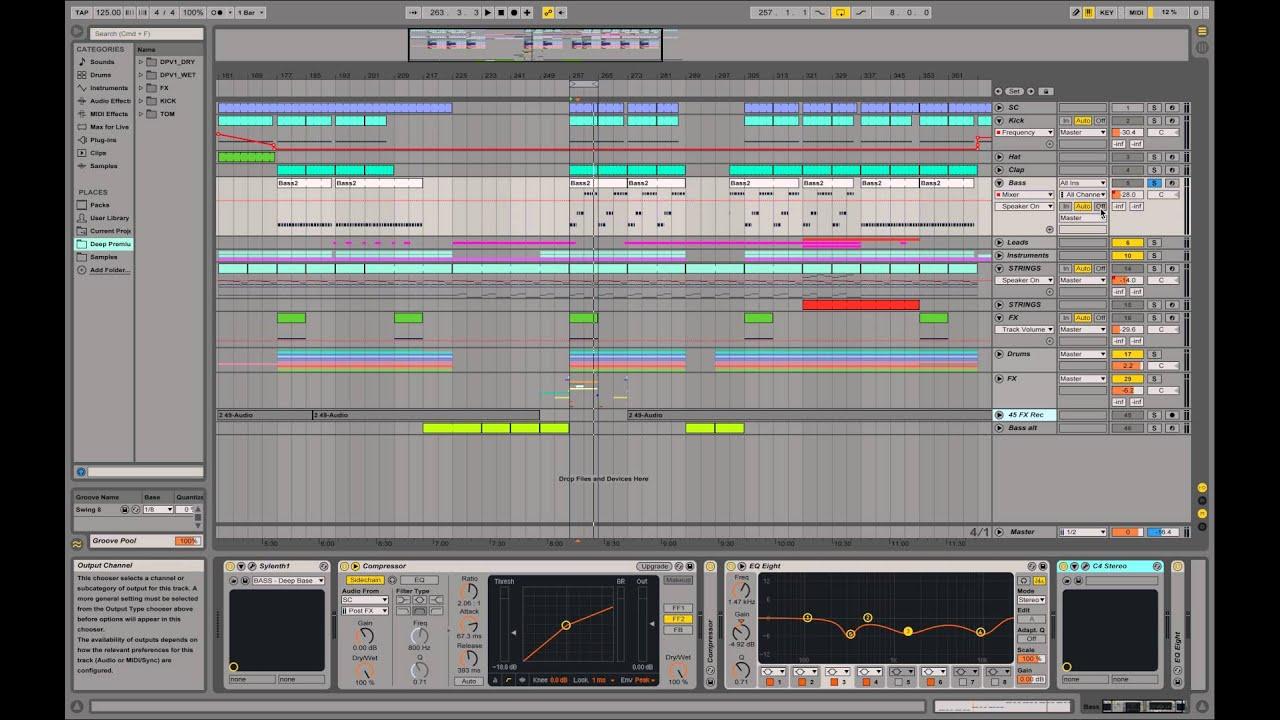 Ableton live tutorials | adsr.