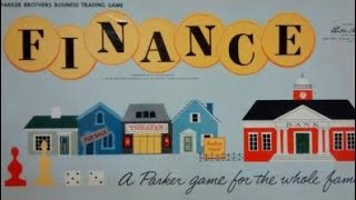 Ep. 152: Finance Board Game Review (Parker Brothers 1958)