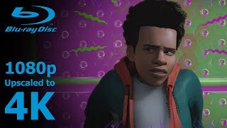 Spider-Man: Into the Spider-Verse - A Spider Crawling In A Wormhole