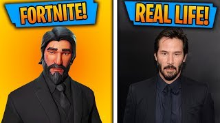 Top 10 Fortnite Skins IN REAL LIFE!