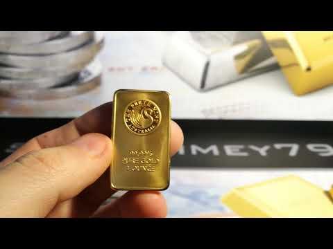 --Fake Gold 1oz Perth Mint Bars 99.99% BEWARE!!! & Channel Shoutout!!--
