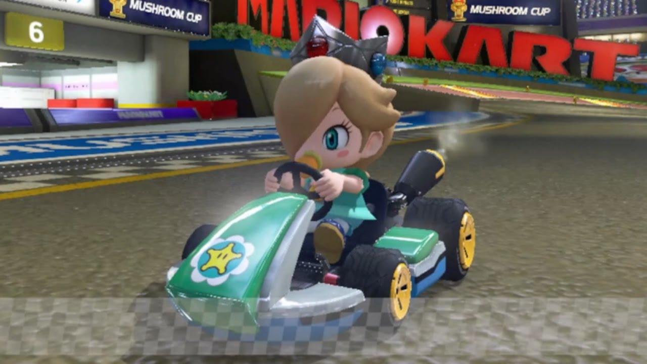 Baby Mario Mario Kart 8: Mario Kart 8 Baby Rosalina Gameplay HD