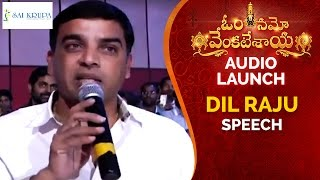 Dil Raju Speech | Om Namo Venkatesaya Audio Launch | Nagarjuna | Anushka | Pragya | Jagapathi Babu