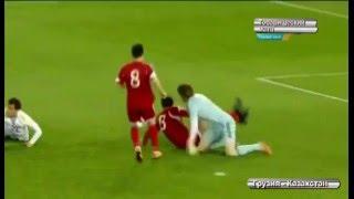 Футбол Грузия - Казахстан счет 1:1 (товарищеский матч) / Football Georgia vs Kazakhstan