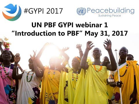 PBF GYPI 2017 - Webinar 1: Introduction to PBF
