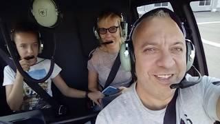 Обзор Вертолета Robinson R-44, Полет Над Московй, Артур Л.Мехтиев  На Канале Mekhtiyev News