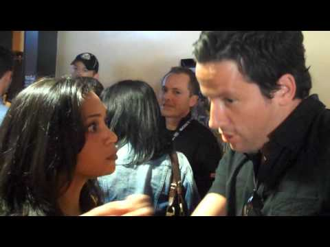 Housewife in Hollywood Catches actors Ross McCall & Danielle Nicolet in a Moment