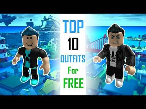 Awesome Light Grey And Black Jacket Roblox Top 10 Outfits For Free Roblox Youtube