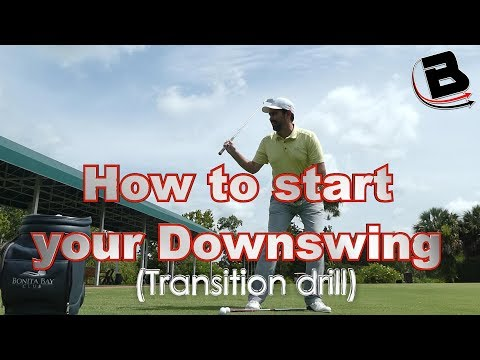 How To Start Your Downswing (Transition Drill)