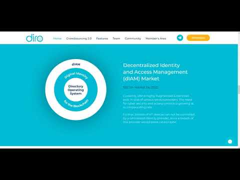 DIRO - Decentralized Identity and Access!