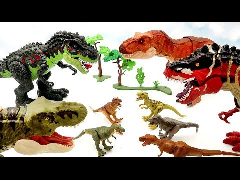 My Tyrannosaurus Toy Collection - New Jurassic World Legacy Collection Dinosaur Park Dino Toys